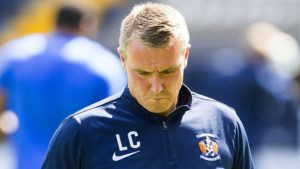 Kilmarnock booed off after League Cup exit