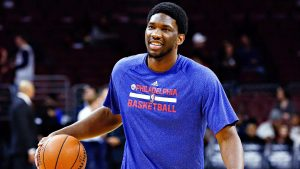 76ers say Embiid (foot) is 'on track to play'