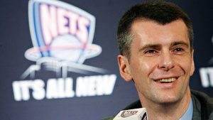 Prokhorov looks to sell minority stake in Nets