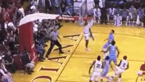 WATCH: Indiana's Anunoby throws down alley-oop and flashes crazy wingspan