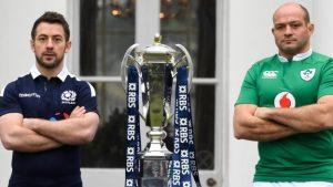 Six Nations 2017: Scotland's Laidlaw certain Ireland will cope with Sexton injury