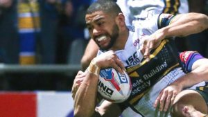 Rhinos edge past champions Wigan