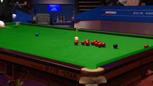 World Championship final: John Higgins goes plant-potty at Crucible