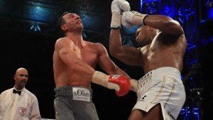 WATCH: Anthony Joshua's uppercut nearly takes Wladimir Klitschko's head off