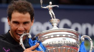 Barcelona Open: Rafael Nadal beats Dominic Thiem to win 10th title