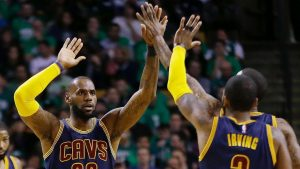 Cavs postpone thought of Warriors, 'stress'