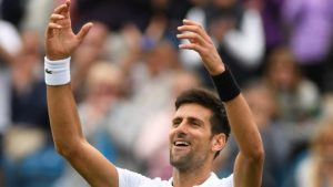 Eastbourne 2017: Novak Djokovic eases into final by beating Daniil Medvedev