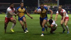 Leeds Rhinos 24-22 St Helens: Ryan Hall's crucial score is try of the week