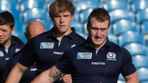 Scotland's Stuart Hogg & Jonny Gray are sidelined for up to six months