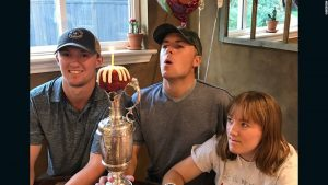 Birthday boy Spieth celebrates in style