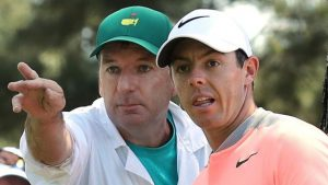 Rory McIlroy splits from caddie JP Fitzgerald