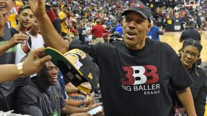 LaVar Ball and his Big Ballers draw frenzied crowd to Las Vegas gym for summer game