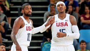 Three-Man Weave answers big questions about Carmelo Anthony, Kyrie Irving trade talk