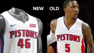 LOOK: Pistons unveil new Nike uniforms, jersey sponsor for 2017-18 NBA season