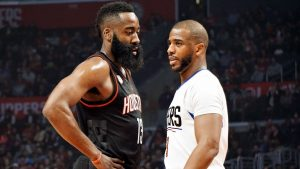 CP3, Harden dazzle in debut at Drew League