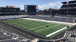 LOOK: Turner Field has officially transformed for Georgia State football