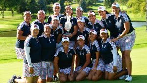 Team USA beats Europe to retain the Solheim Cup