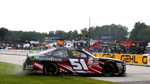 Jeremy Clements spins, then wins NASCAR Xfinity race at Road America