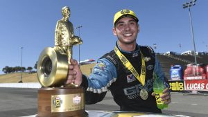 Tanner Gray: Brash, opinionated and the new face of the NHRA