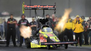 On verge of NHRA Top Fuel playoffs, rookie Troy Coughlin Jr. quits Kalitta Motorsports ride