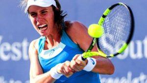 Cincinnati Open: Johanna Konta beats Dominika Cibulkova to reach quarter-finals