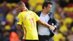 Watford 0-0 Brighton: Marco Silva praises Hornets spirit after red card
