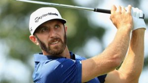 Northern Trust: Dustin Johnson beats Jordan Spieth in first hole of sudden-death play-off