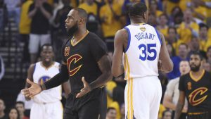 Kevin Durant comments on Kyrie Irving's situation with Cavs: 'They'll figure it out'
