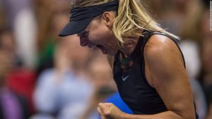 Sharapova's show court stint riles rival Wozniacki