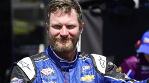 NASCAR's most popular driver working on his Uber rating