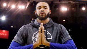 JaVale McGee re-enacts traffic in L.A. with daughter's help