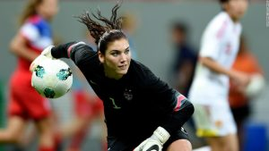 Hope Solo says Sepp Blatter grabbed her inappropriately