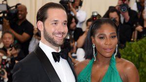 Serena Williams says 'I do'