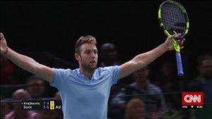 Paris win sends Jack Sock to ATP Tour finals