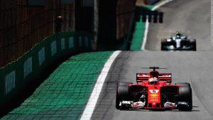 Brazilian GP: Sebastian Vettel cruises to victory