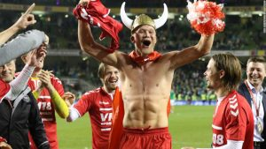 Denmark book World Cup spot with 5-1 win