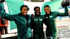 Nigerian women's bobsled team make Olympic history