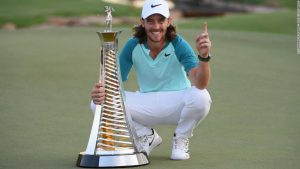 England's Fleetwood crowned Europe's top golfer