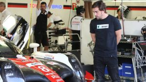 F1's Fernando Alonso takes one more step towards 24 Hours of Le mans with WEC test