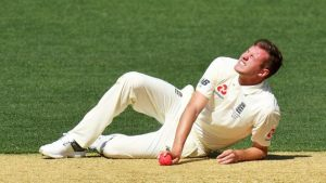 Ashes 2017-18: England seamer Jake Ball sprains right ankle ligament and is a fitness doubt for the next warm-up match