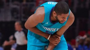 Batum travels with Hornets, questionable Fri.