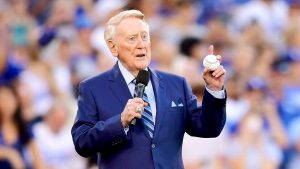 Vin Scully 'will never' watch NFL after protests