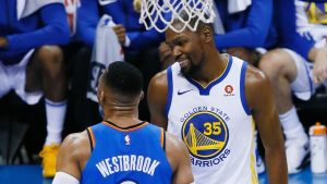 Kevin Durant: 'It's not about me and Russ'