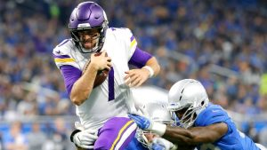 Case Keenum leads Vikings over Lions, solidifying NFC North grip