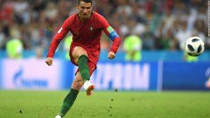 Commentator goes wild over Ronaldo goal