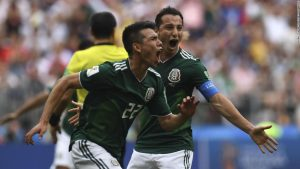 Holders Germany beaten by Mexico