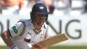 County Championship: Ballance ton aids Yorkshire recovery v Hampshire