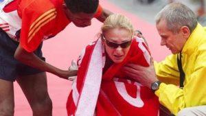 Radcliffe beaten by Gebrselassie