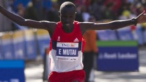 Mutai to defend title after fever