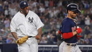 Yankees' Boone says Red Sox 'win every day'